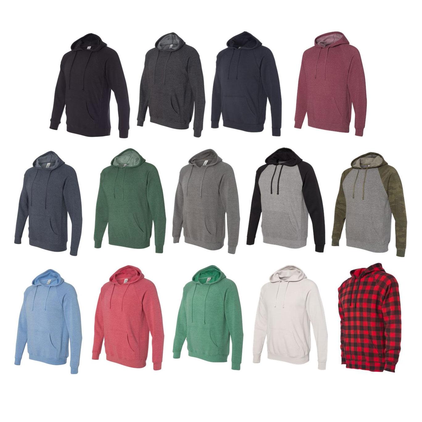 Independent Trading Co. - Unisex Special Blend Raglan Hooded Sweatshirt