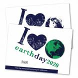5 x 7 Large Eco Friendly Postcard w Shaped Seeded Paper