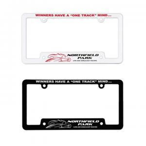 Screen Cornered License Plate Frame