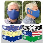 Full Color Foam Face Masks - USA MADE