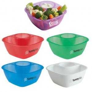 Dip-It Snack Bowl