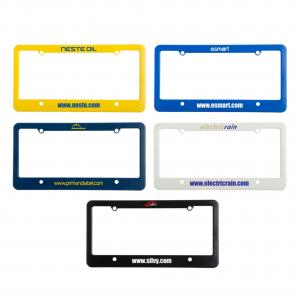 License Plate Frames - 4 Hole Top Bottom