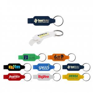 Rectangular Beverage Opener Key Tag