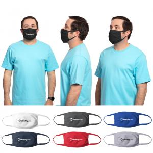 100% Cotton Knit Face Masks PRINTED