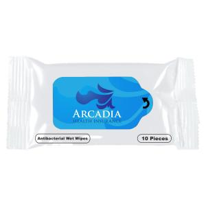 Antibacterial Wet Wipes Packet