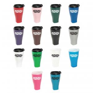 Double Wall Twister Travel Tumbler