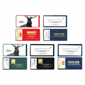 Insurance Policy Holder W/ Card Holder