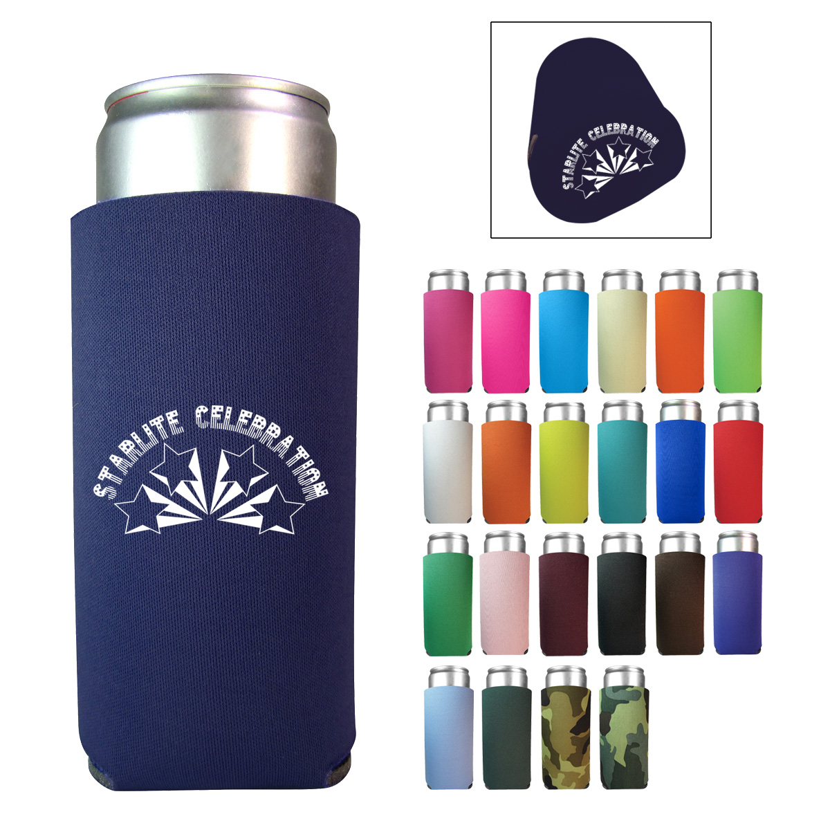 12 oz. Slim Can Cooler