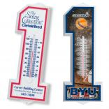 Number One Shaped Thermometer
