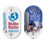 Small Oval Indoor/Outdoor Thermometer