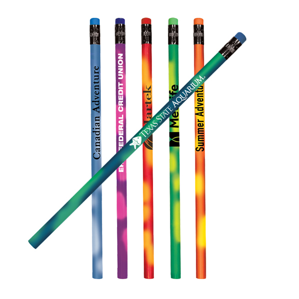 Color Changing Mood Pencil with Colorful Eraser