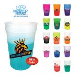 17 oz. Color Changing Stadium Cup w/ Full Color Imprint