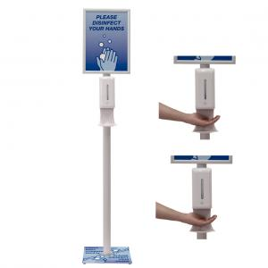 Deluxe Touch-Free Hand Sanitizer Stand