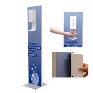 Impress Touch Free Hand Sanitizer Tower Station