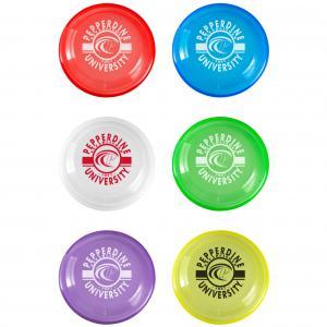 "9"" Transparent Frisbee"