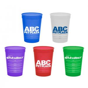 16 oz. Polypropylene Cup with Measures