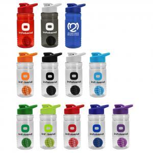 20 oz. Tritan Shaker bottle with Drink Through Lid