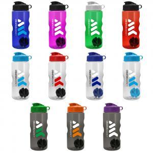 22 oz Shaker Bottle With Flip Top
