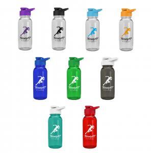 18 oz Tritan Sports Bottle With Drink Thru Lid