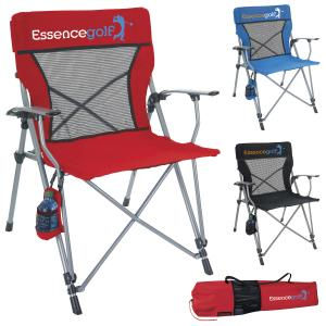 Mesh Back Deluxe Folding Chair