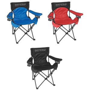 Padded Folding Outdoor Chair