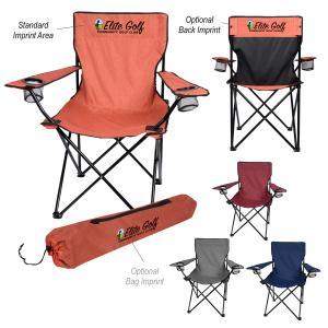 Heathered Folding Chair