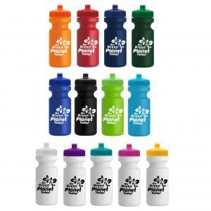 22 oz Eco Cycle Bottle Push Pull Cap