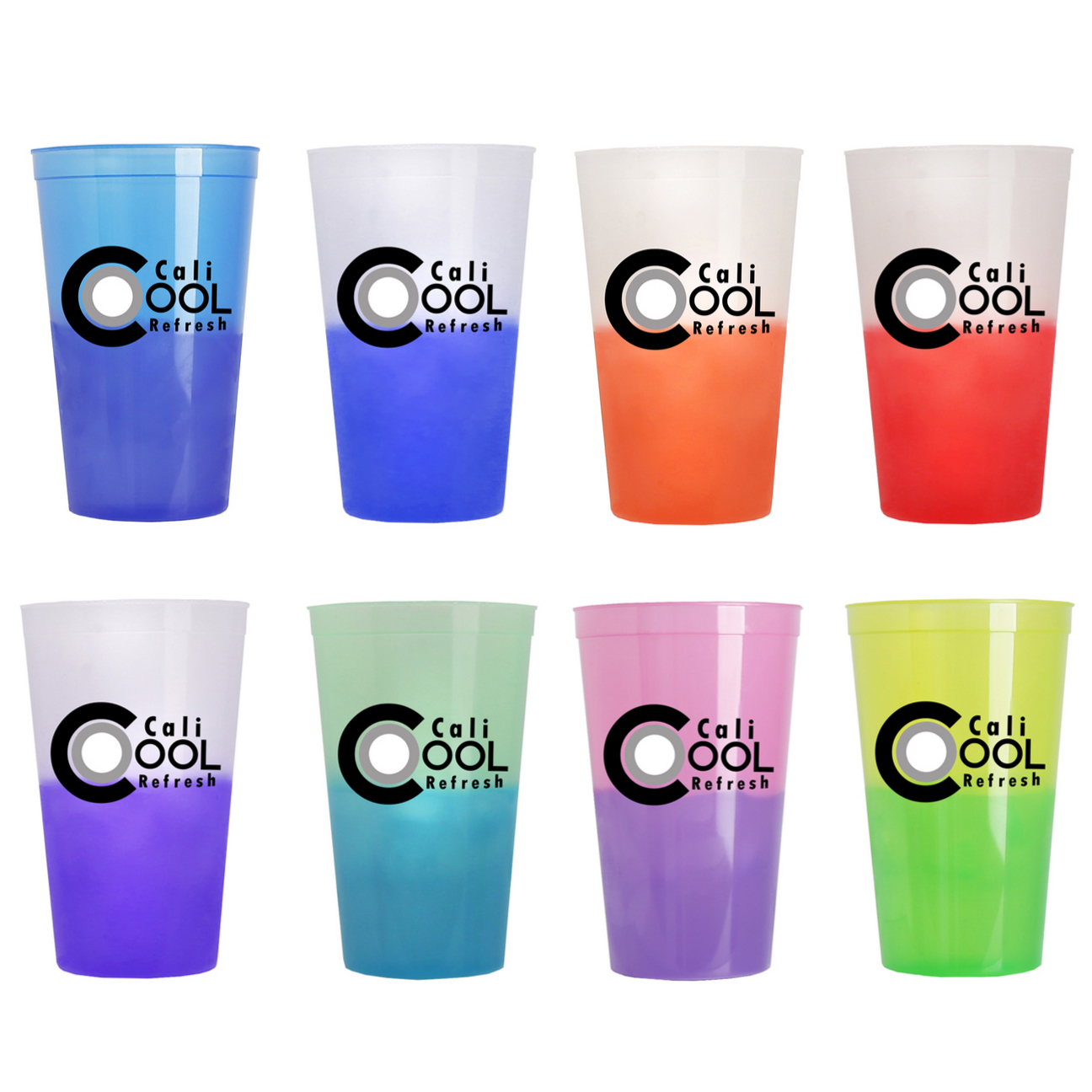 22 oz. Stadium Cup Color Changing