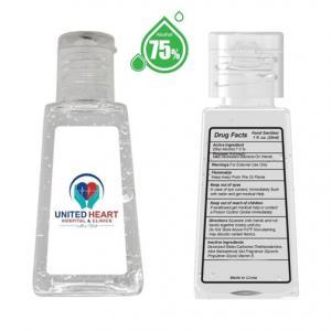 1 oz. - 75% Alcohol Hand Sanitizer Gel