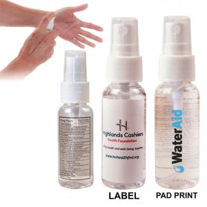 1 oz. Hand Sanitizer Spray Bottle