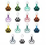 Paw Print Shaped Key Chain