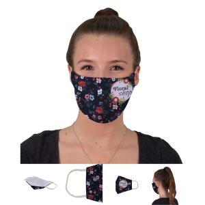 Face Cover Mask with Elastic Ear Loops