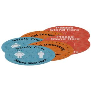 "18""Indoor Surface Grip Circles (set of six)"