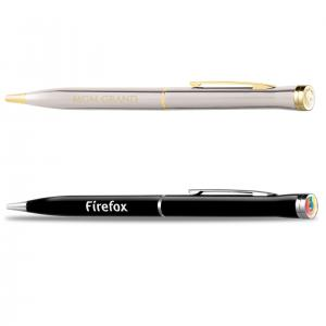 Premium Metal Body Logo Top Pen II