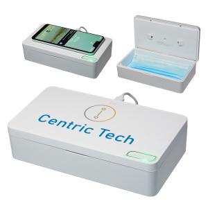 Wireless Charger with UV-C Sterilizer Chamber