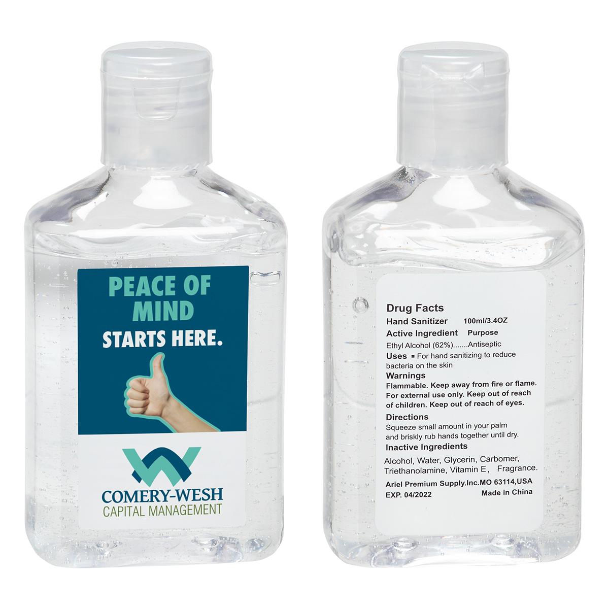 3.4 oz Hand Sanitizer with Vitamin E
