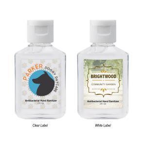 2 Oz. Square Bottle Hand Sanitizer 68%