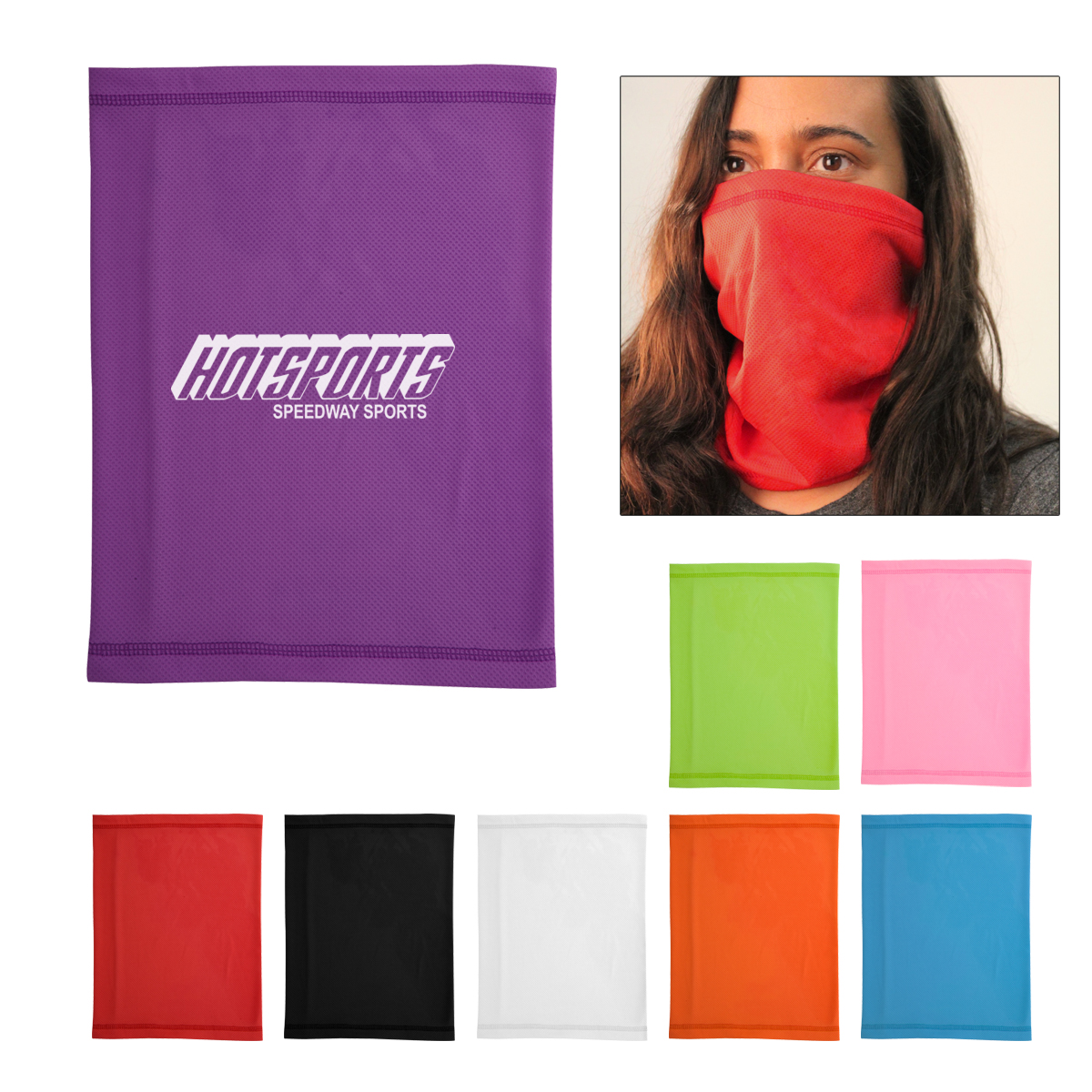 Multi-Function Cooling Face Mask