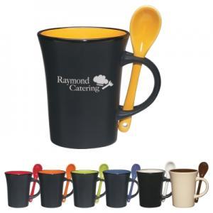 8 Oz. Ceramic Spooner Mug