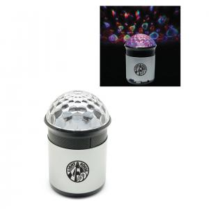 Bluetooth Speaker With Disco Ball Lights