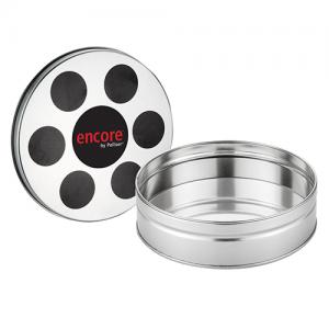 Small Film Reel Tin with Fill Options