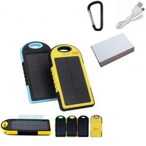 4000mAh Solar Charger with LED Light