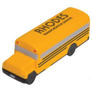 School Bus Shaped Stress Reliever