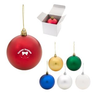 Round Shatter Proof Ornament