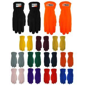 Polar Fleece Fashion Gloves