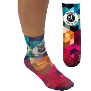 """Full Color Unisex 13"""" Tube Promo Socks"""