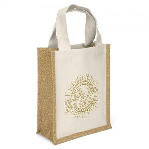 Go for the Gold Glitter Tote Bag