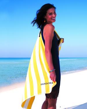 Turkish Signature Basic Weight Cabana Stripe Beach Towel