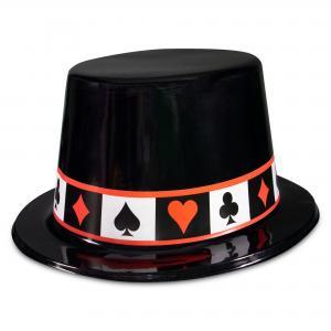 Casino Theme Plastic Hat