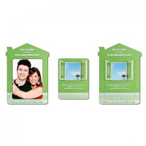 House Shaped Magnetic Picture Frame